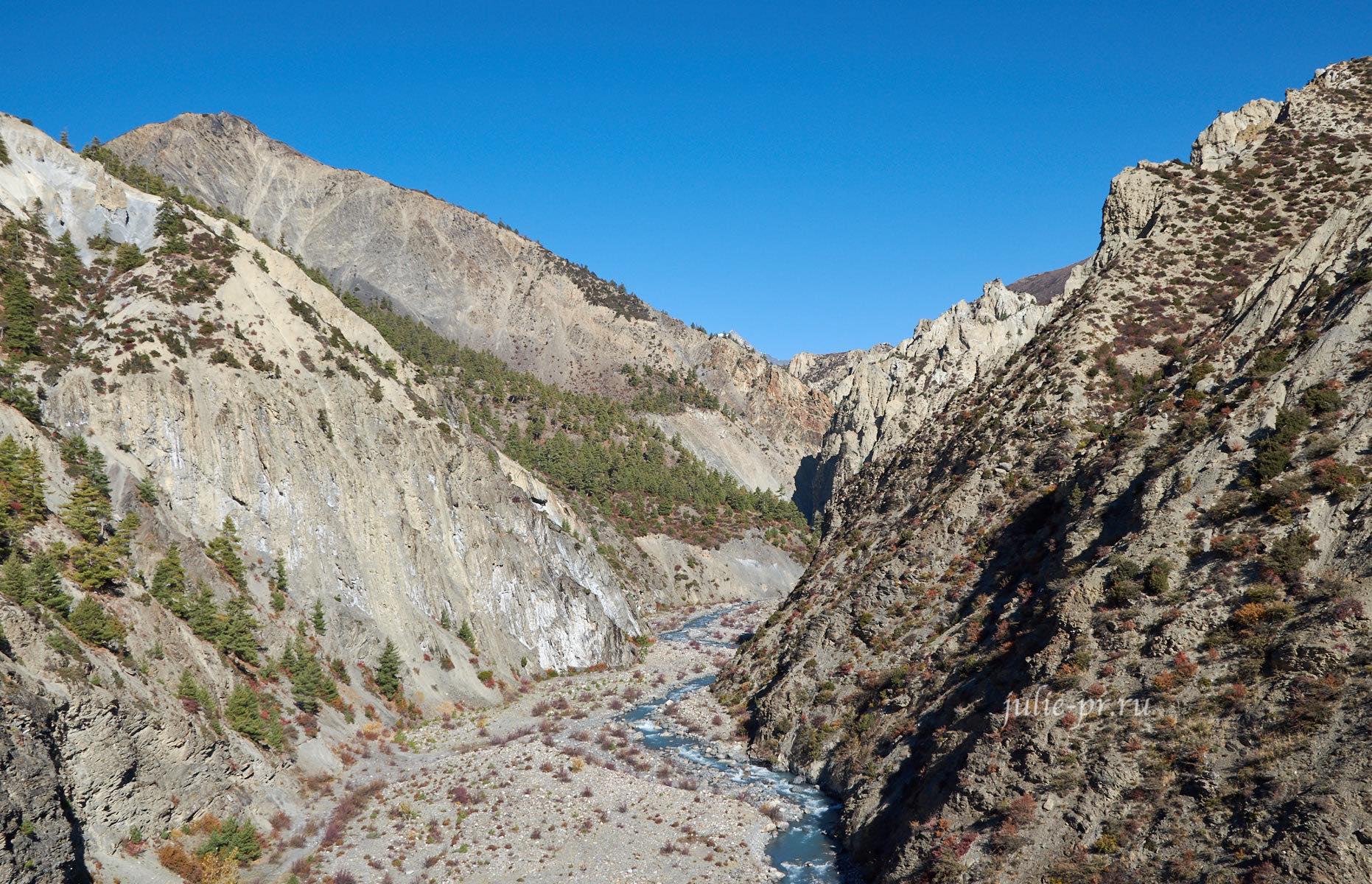 Непал, река Джарсанг-Кхола