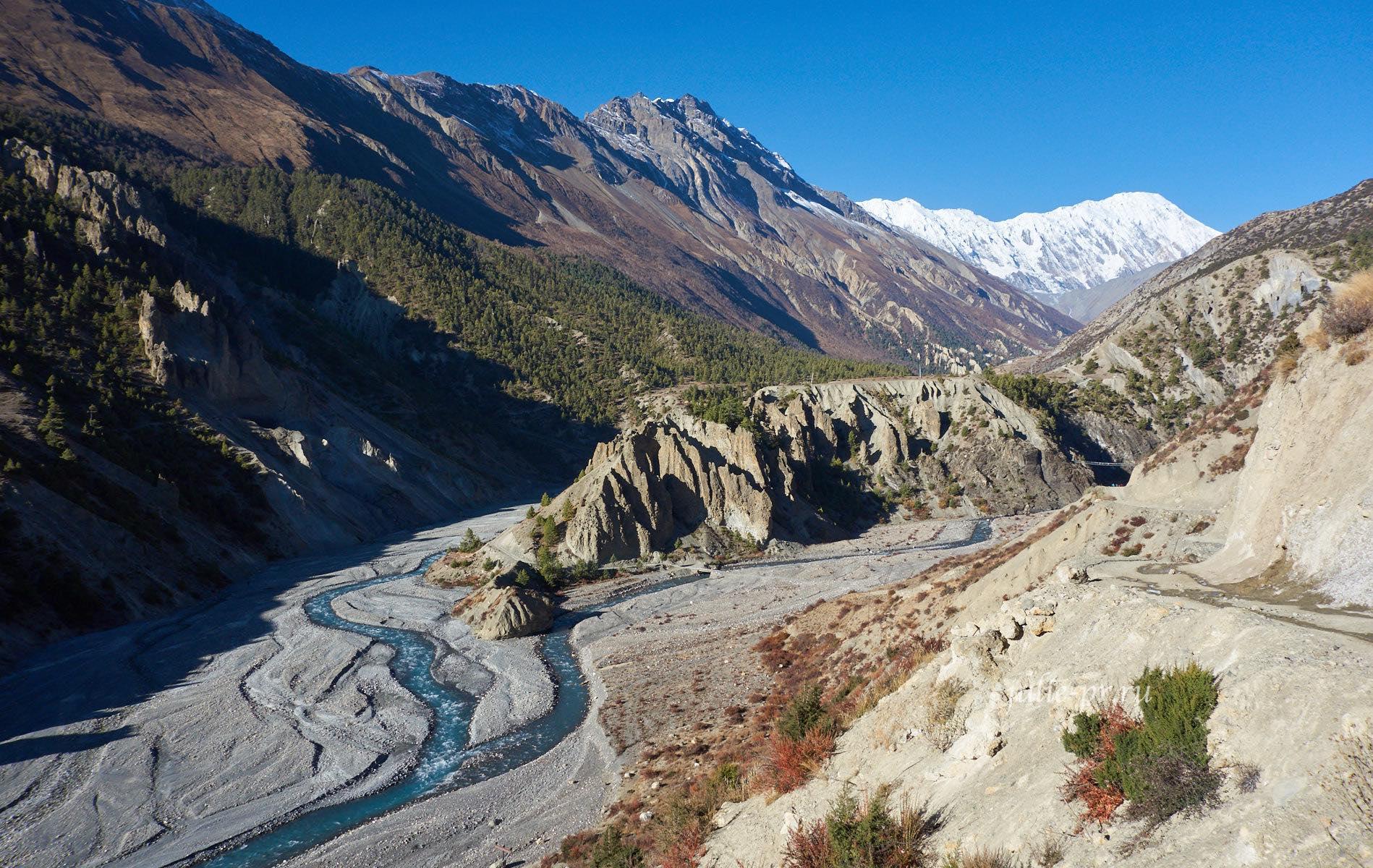 Непал, река Марсъянди