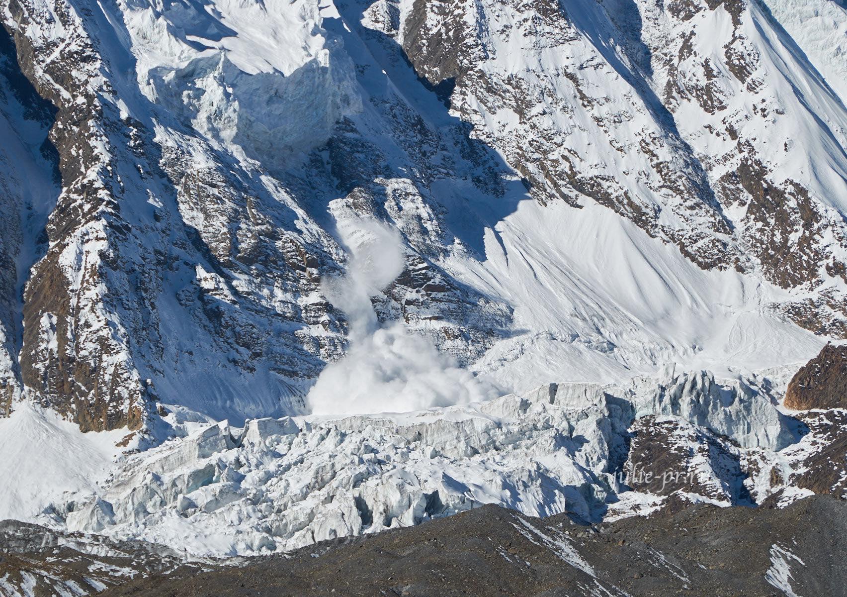 Непал, Тиличо, Лавина