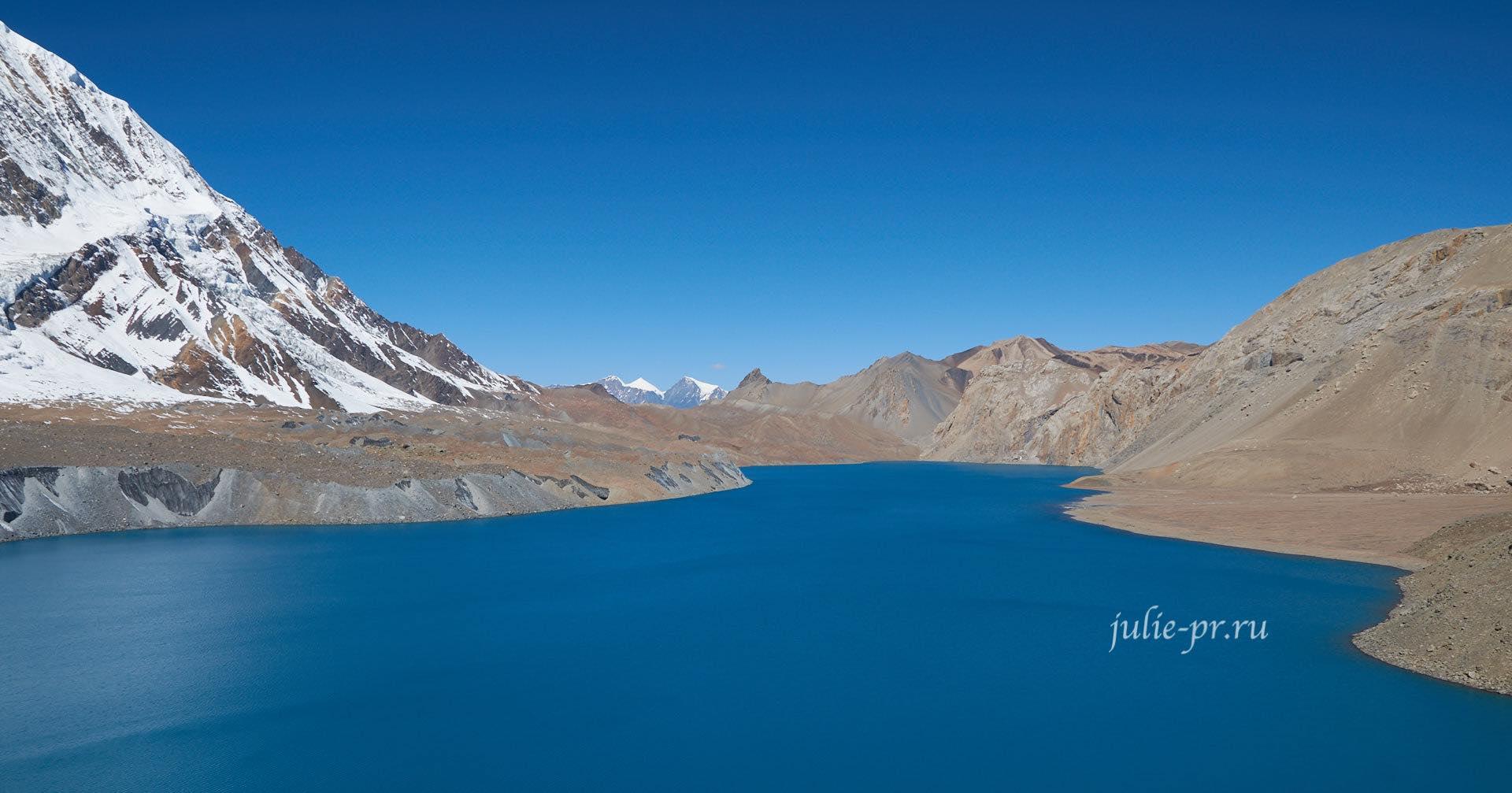 Непал, Озеро и Пик Тиличо