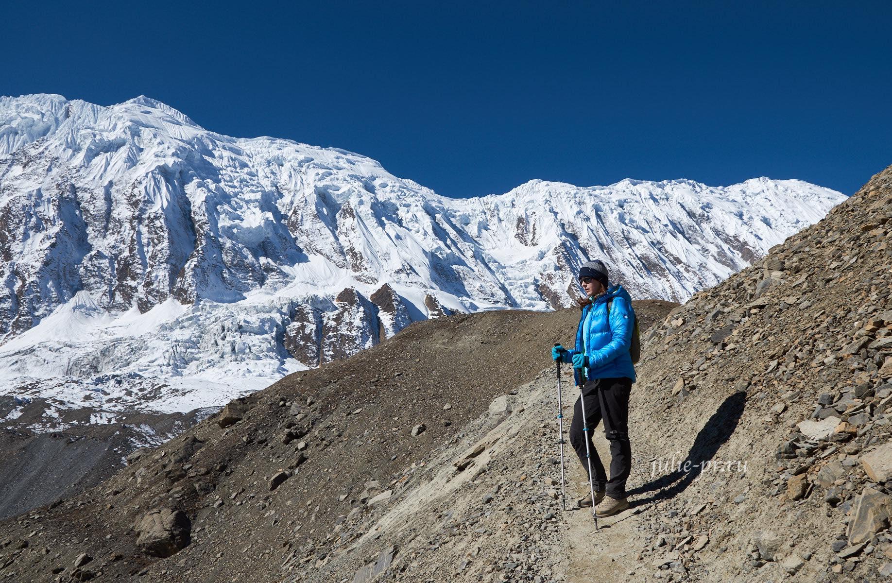 Непал, Трек вокруг Аннапурны, Тиличо, Большой барьер
