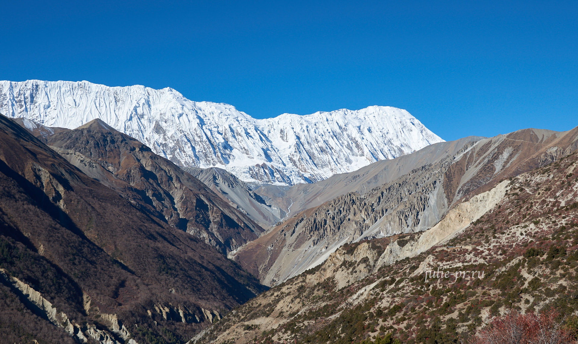 Непал. Пик Тиличо и Большой Барьер Аннапурны