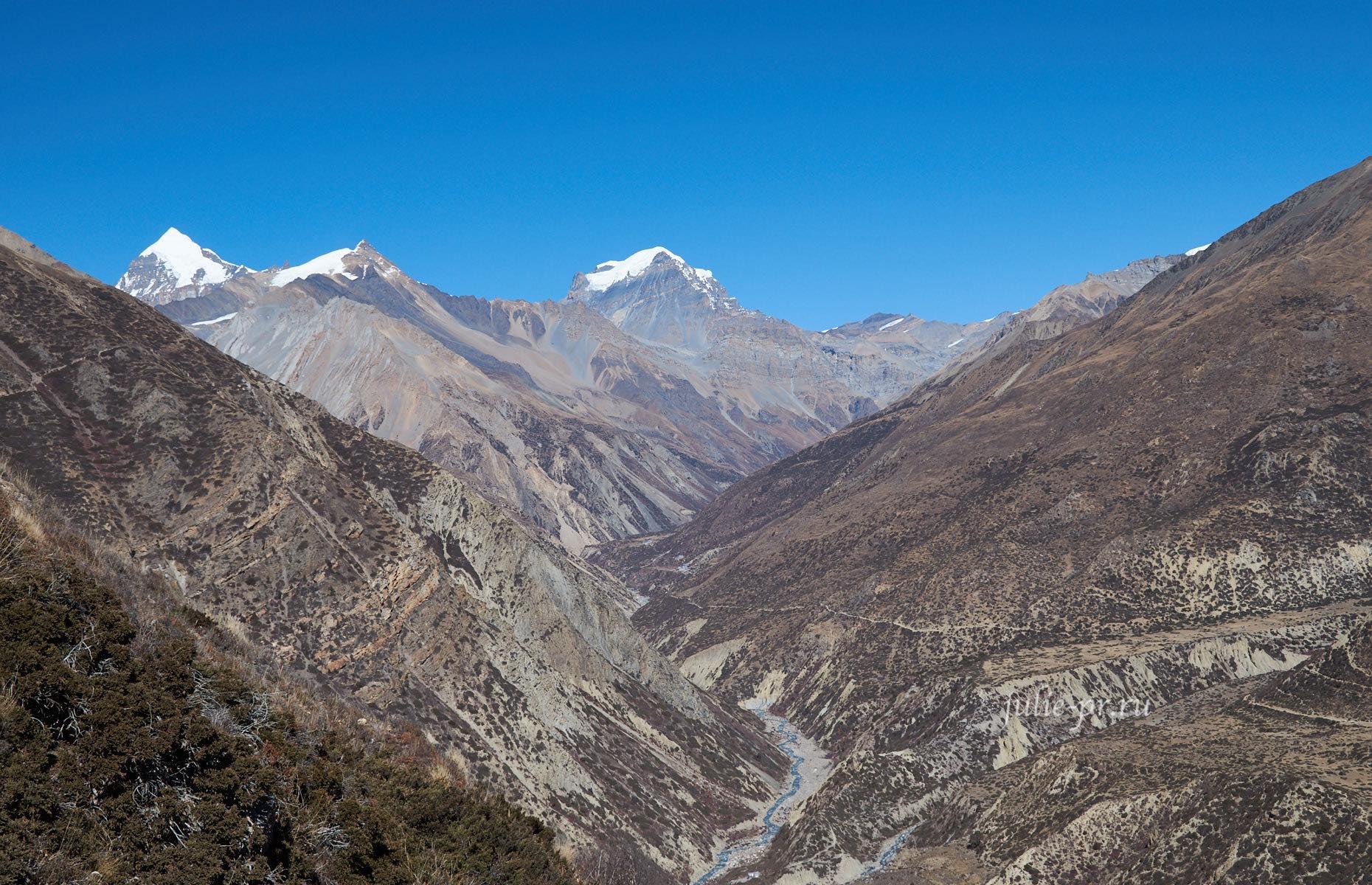 Непал. Гималаи. Путь к перевалу Торонг-Ла