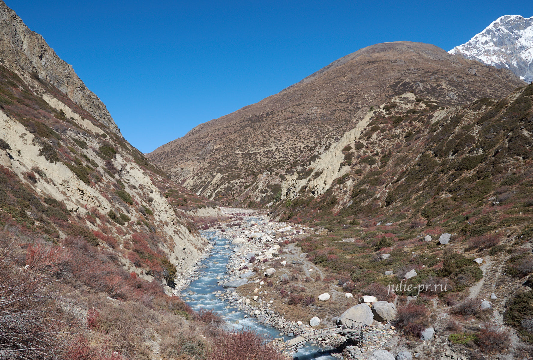 Непал. Река Джарсанг-Кхола
