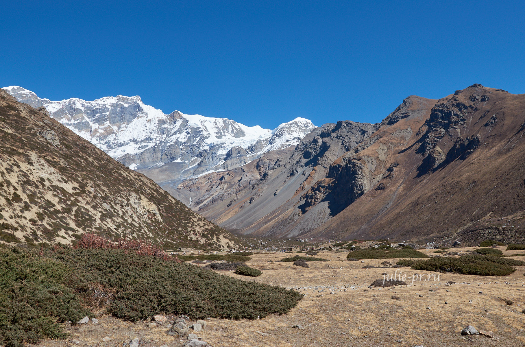 Непал. Гора Чулу