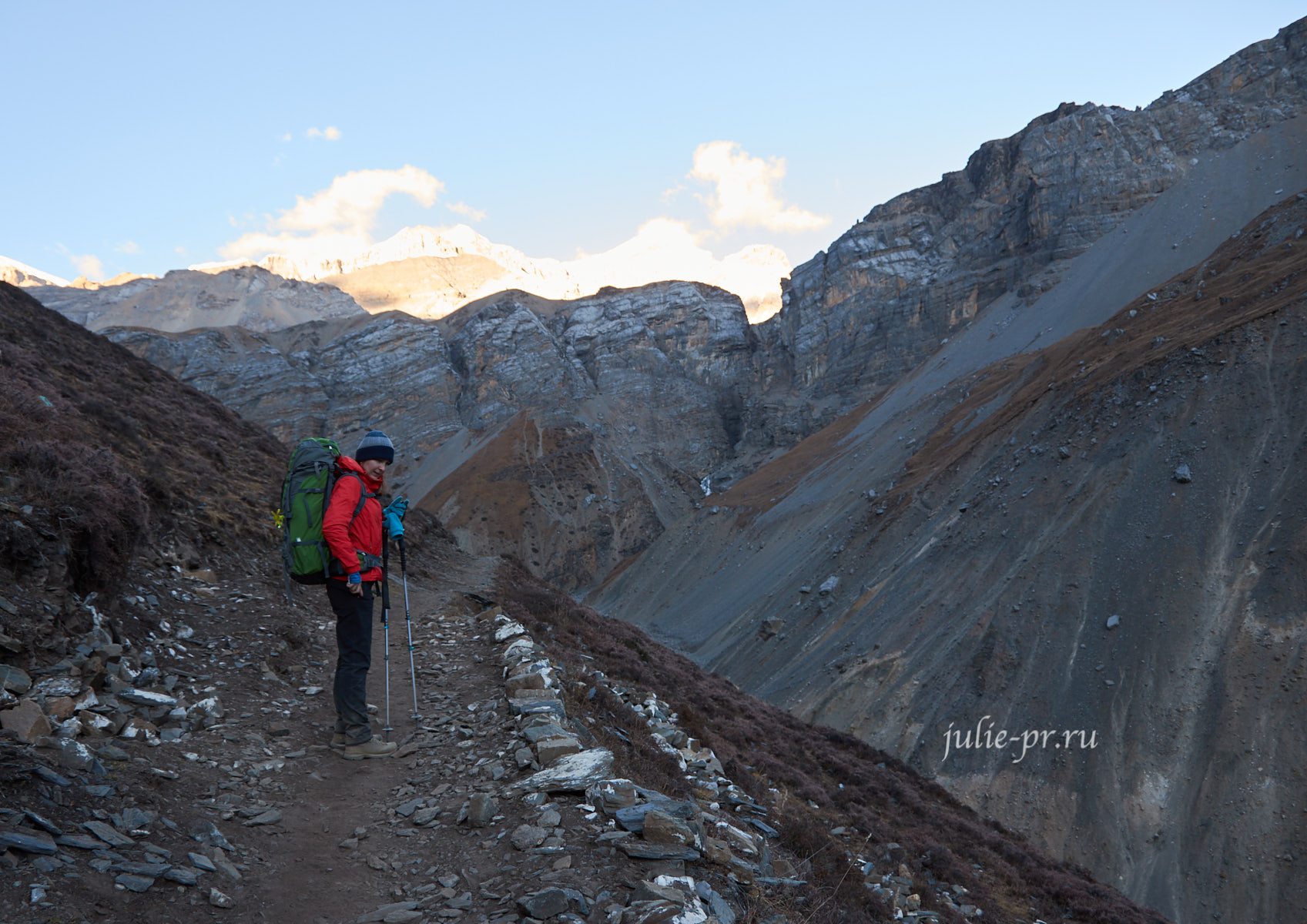 Непал. Тропа к лагерю Торонг-Педи