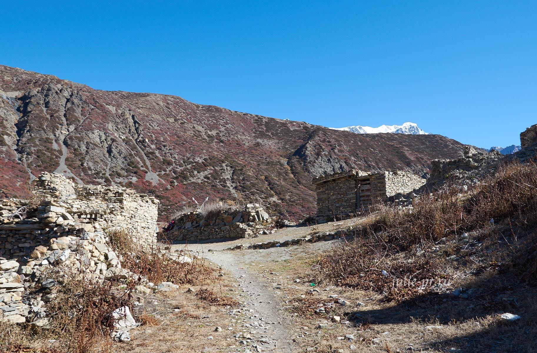 Непал, Деревня Верхний Кхангсар