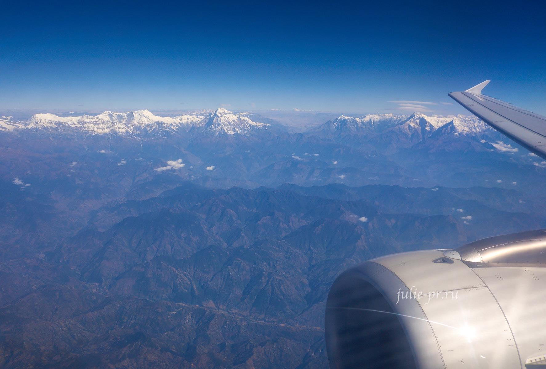 Непал, Гималаи, Самолёт