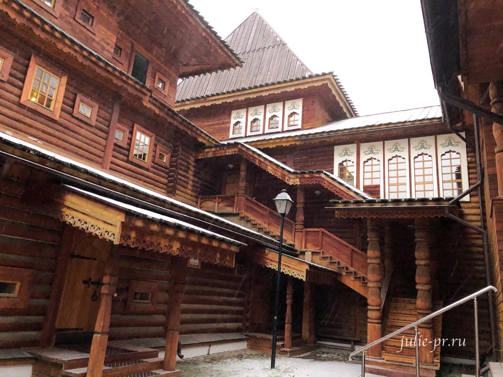 Коломенское, выставочный зал «Подклет дворца царя Алексея Михайловича»