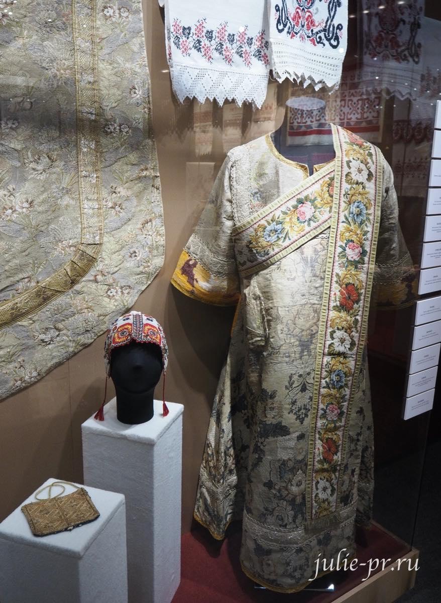 Орарь (Московская губерния, середина XIX века): канва, шерстяные нити, вышивка полукрестом