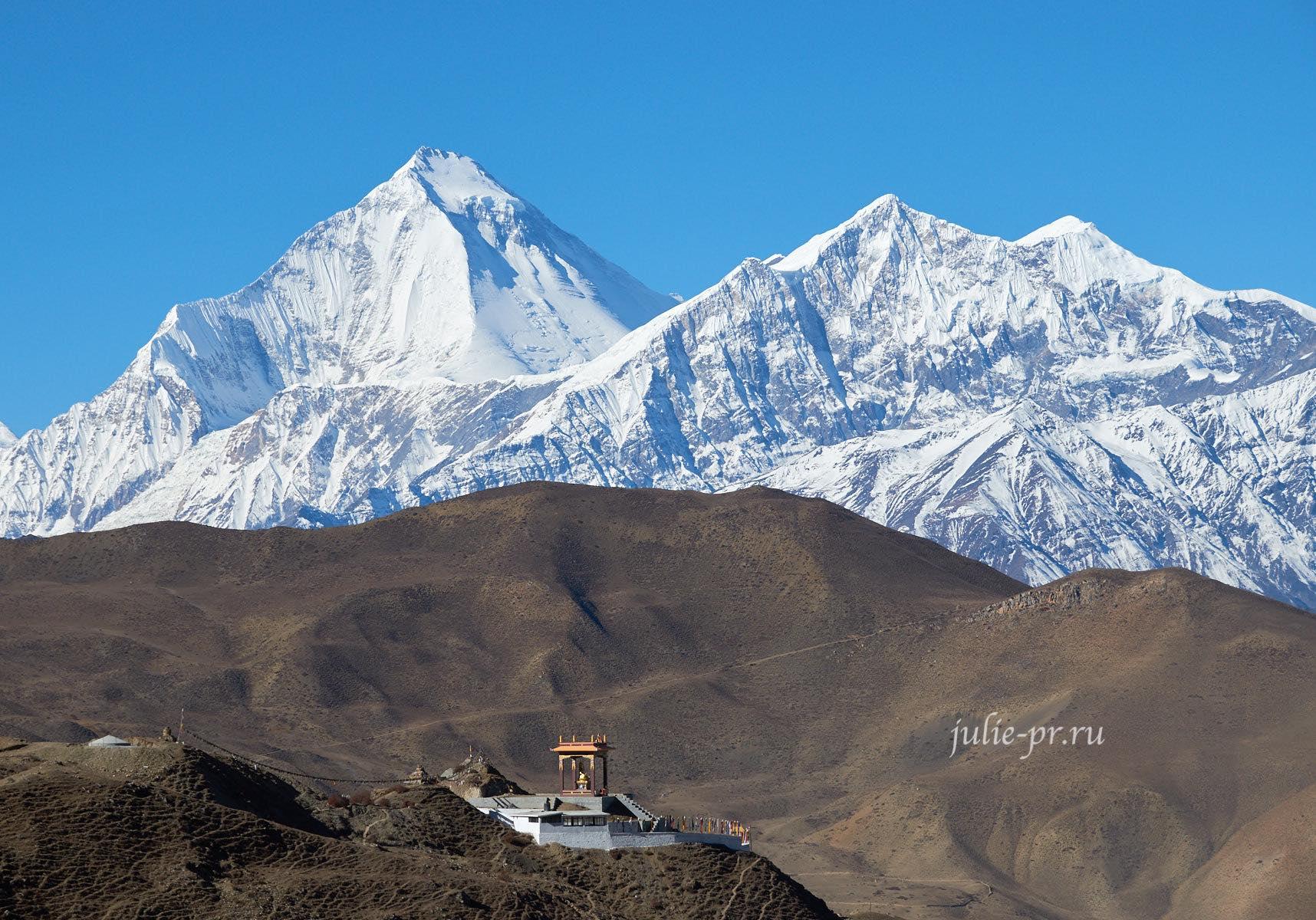 Непал, Муктинатх, Дхаулагири, Тукуче-Ри
