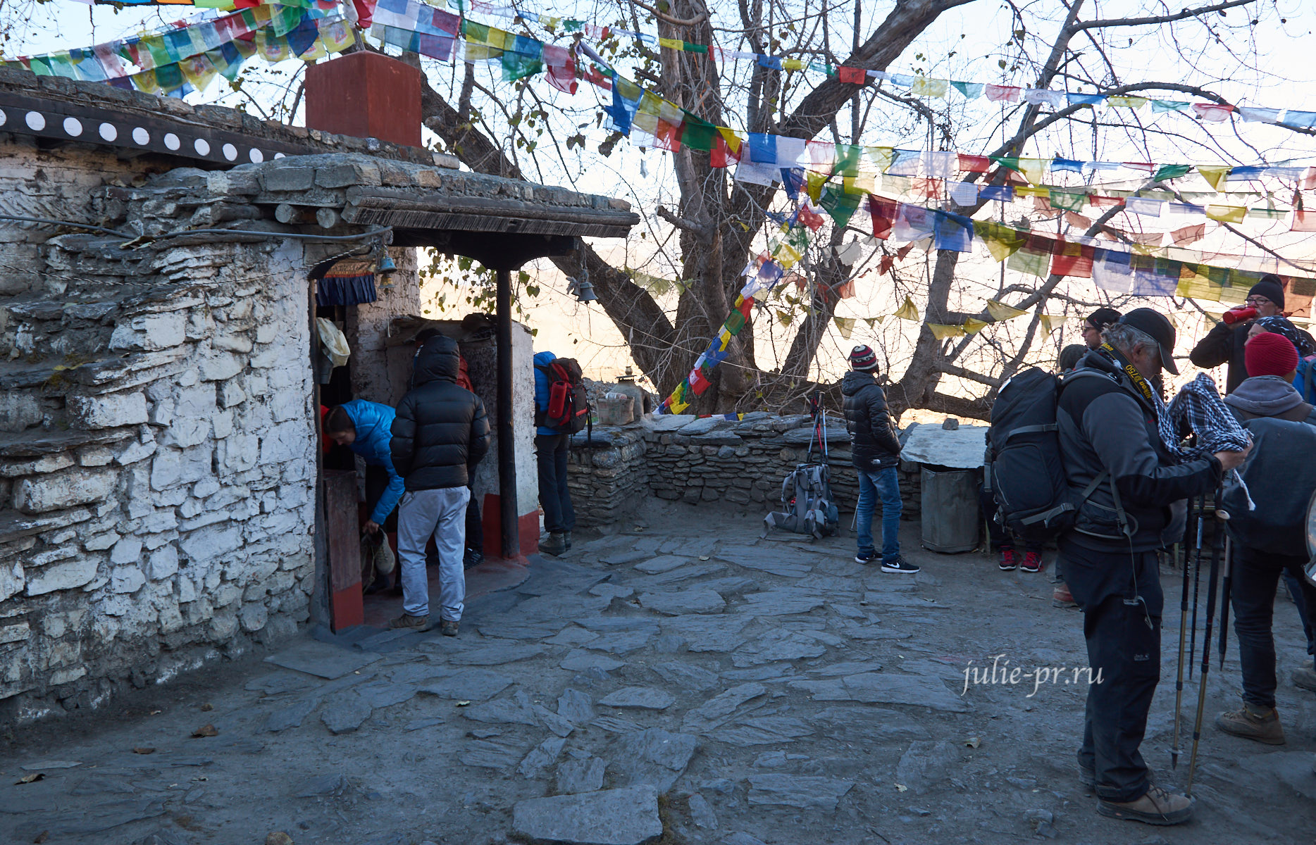 Непал, Муктинатх, Dhola Mebar (Fire) Gompa