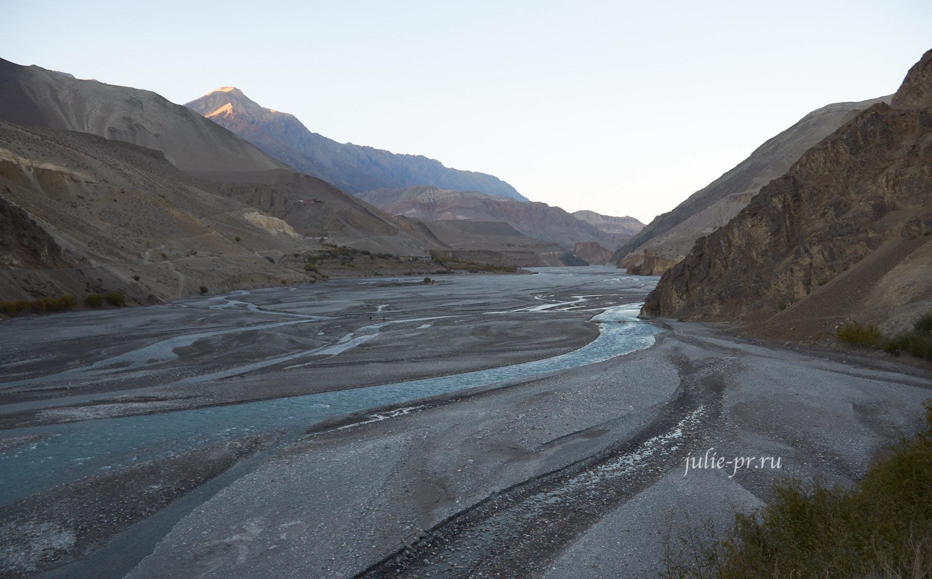 Непал, Кагбени, Река Кали-Гандаки