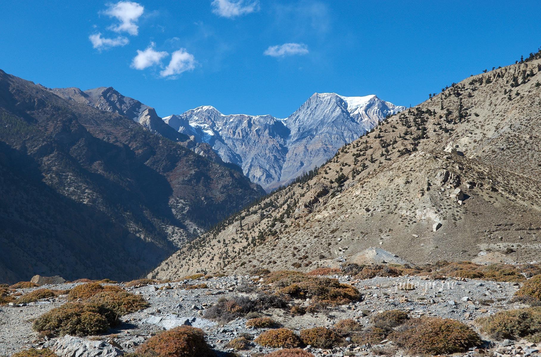 Непал, Джомсом, Горы
