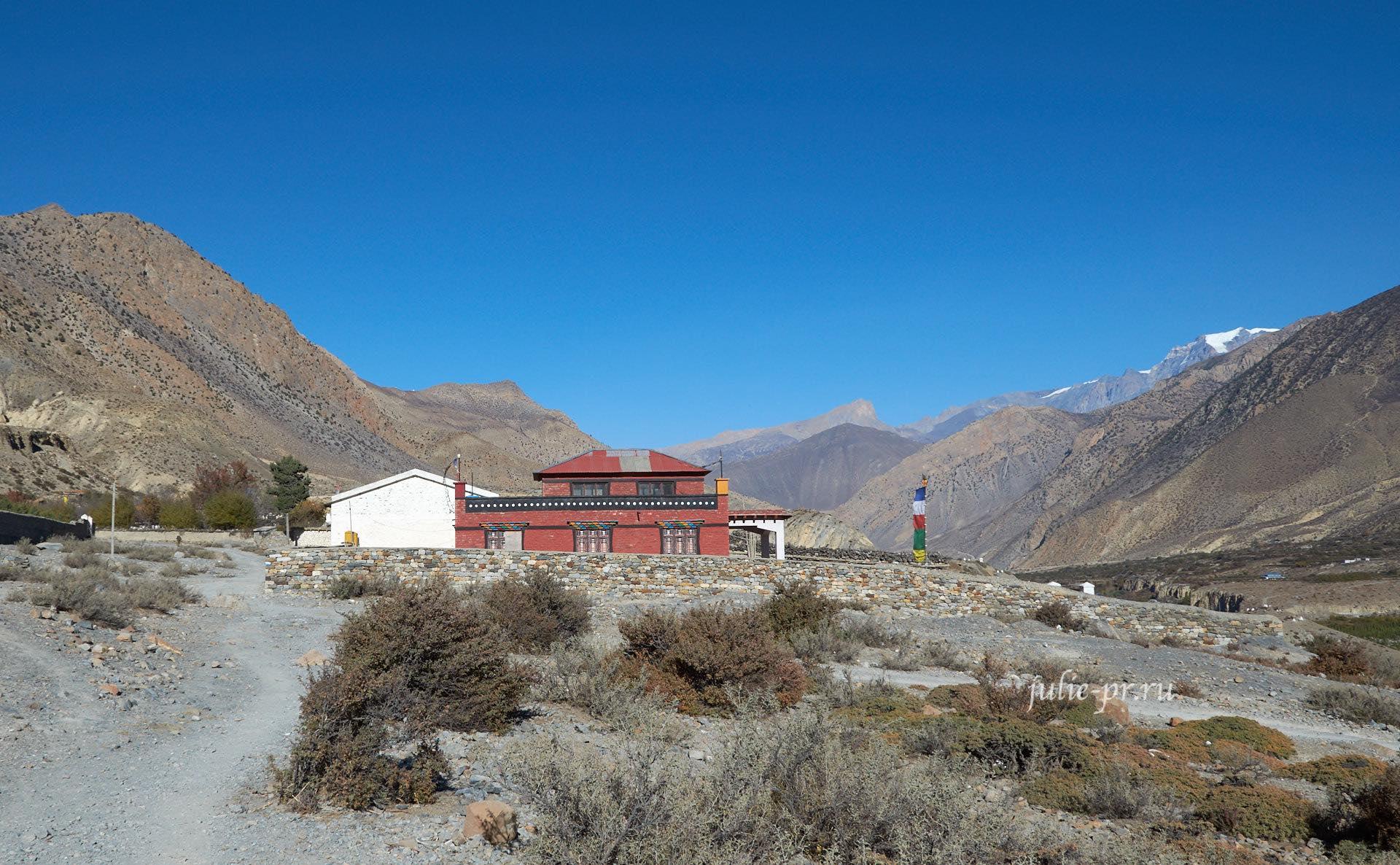 Непал, Сьянг, Монастырь