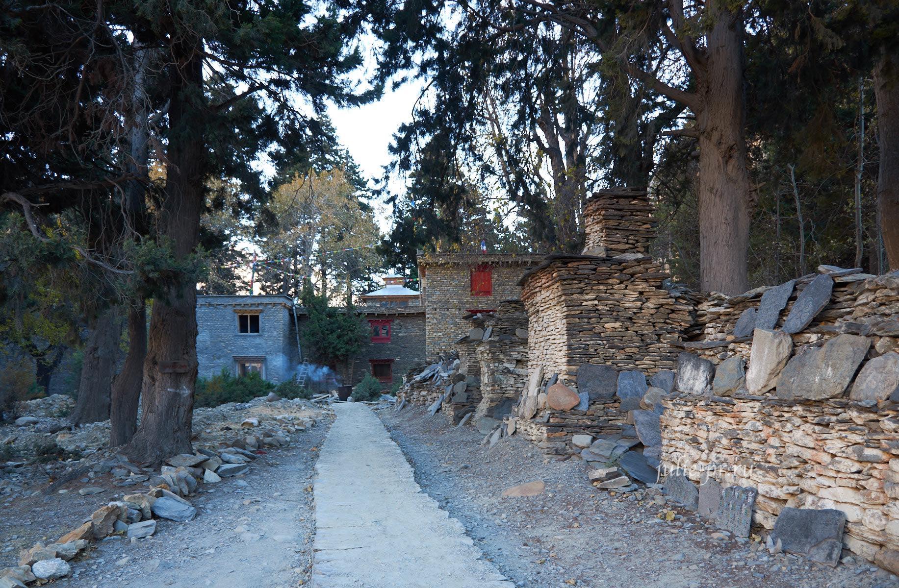 Непал, Трек вокруг Аннапурны, Лагерь тибетцев