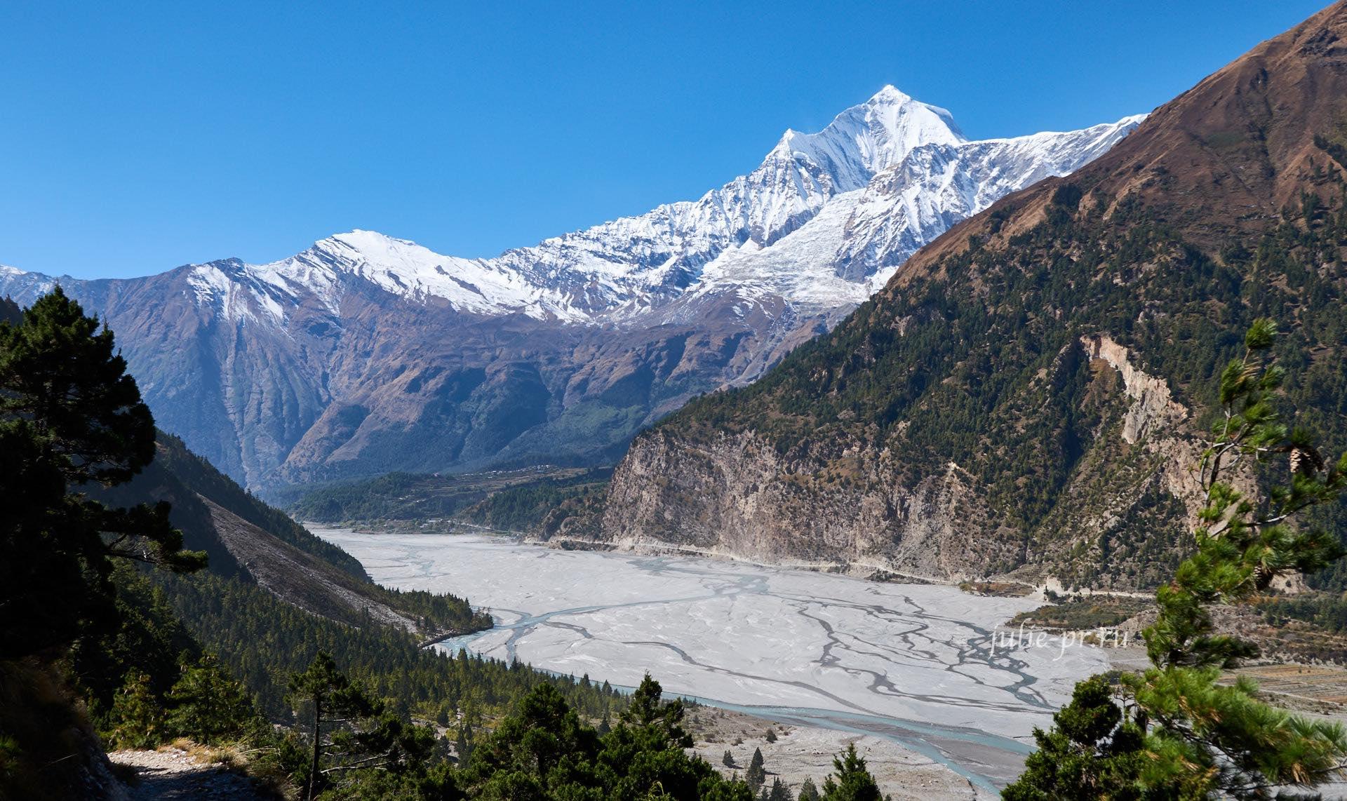 Непал, Трек вокруг Аннапурны, Кали-Гандаки, Дхаулагири
