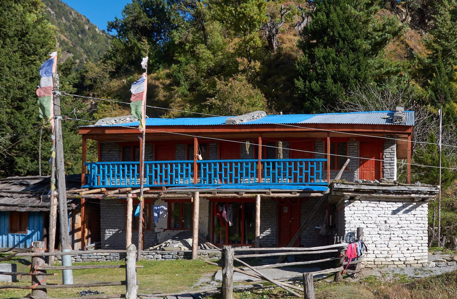 Непал, Трек вокруг Аннапурны, Деревня Сиркунг