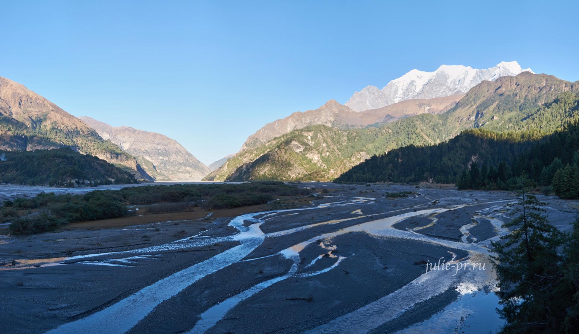 Непал, Трек вокруг Аннапурны, Река Кали-Гандаки