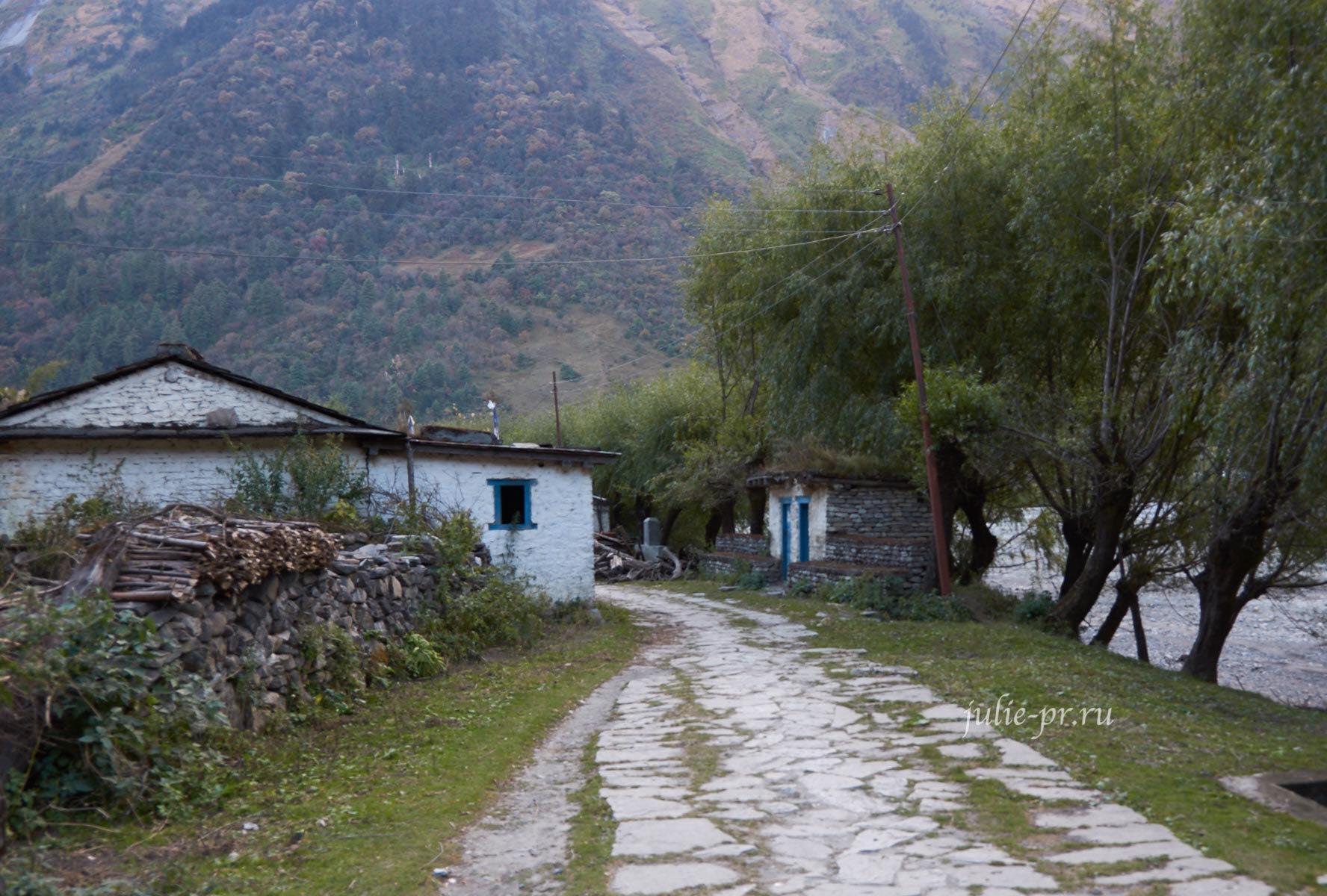 Непал, Трек вокруг Аннапурны, Деревня Кокхетанти