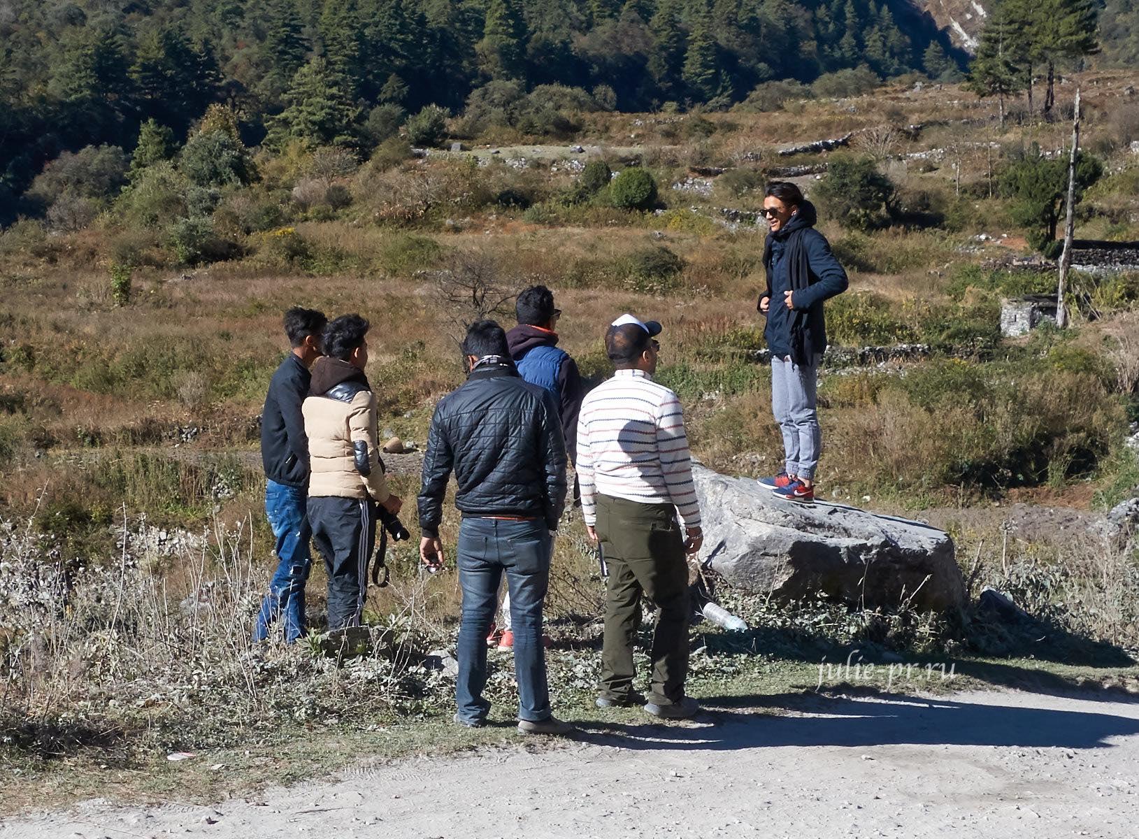 Непал, Трек вокруг Аннапурны, Селфи
