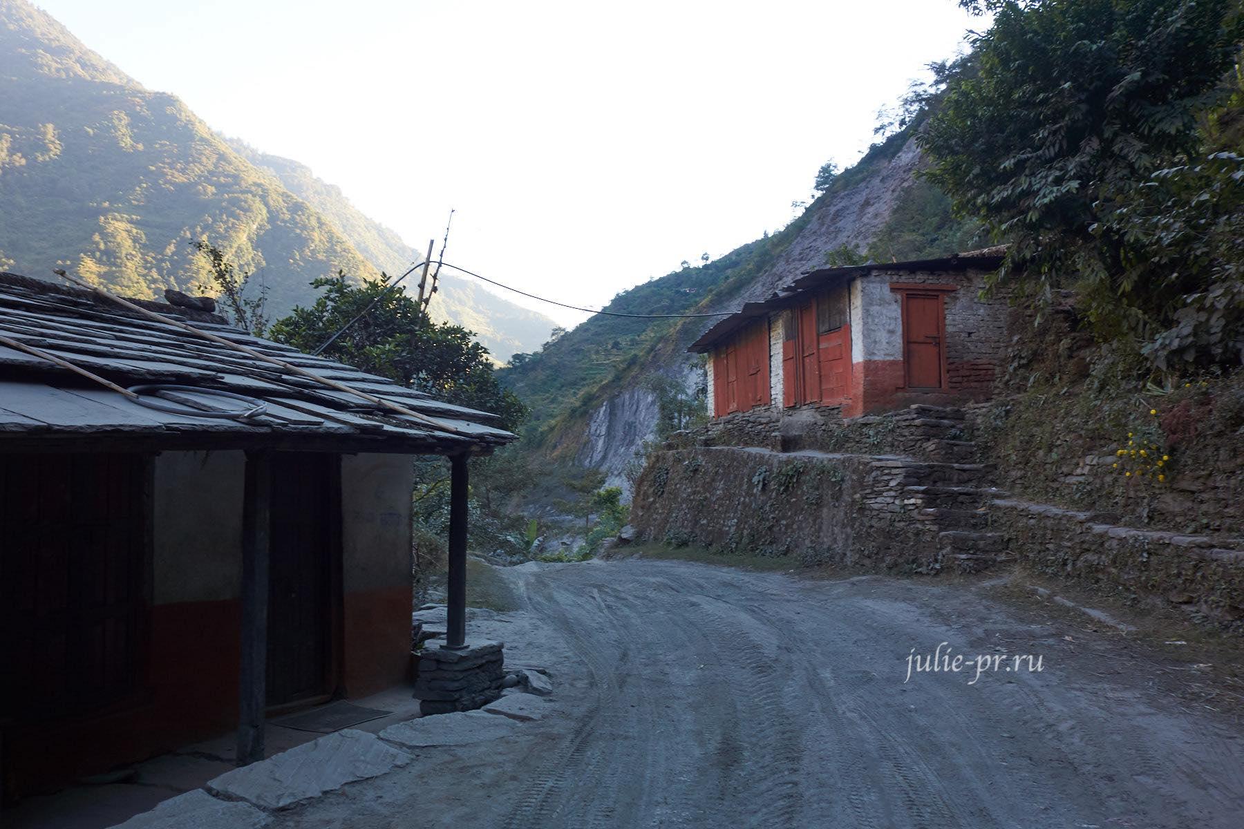 Непал, Трек вокруг Аннапурны, Дорога