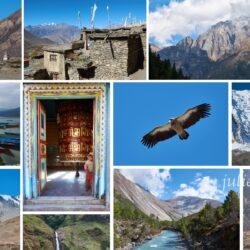 Обновление серии статей про горный поход в Непале