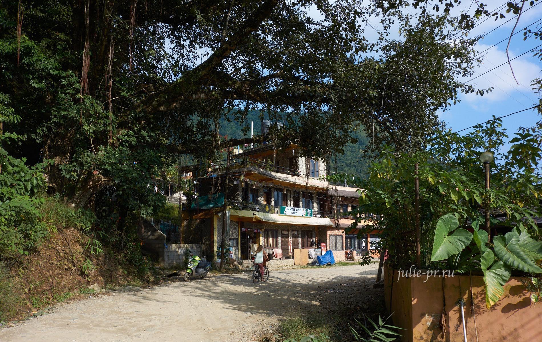 Непал, Покхара, Lakeside