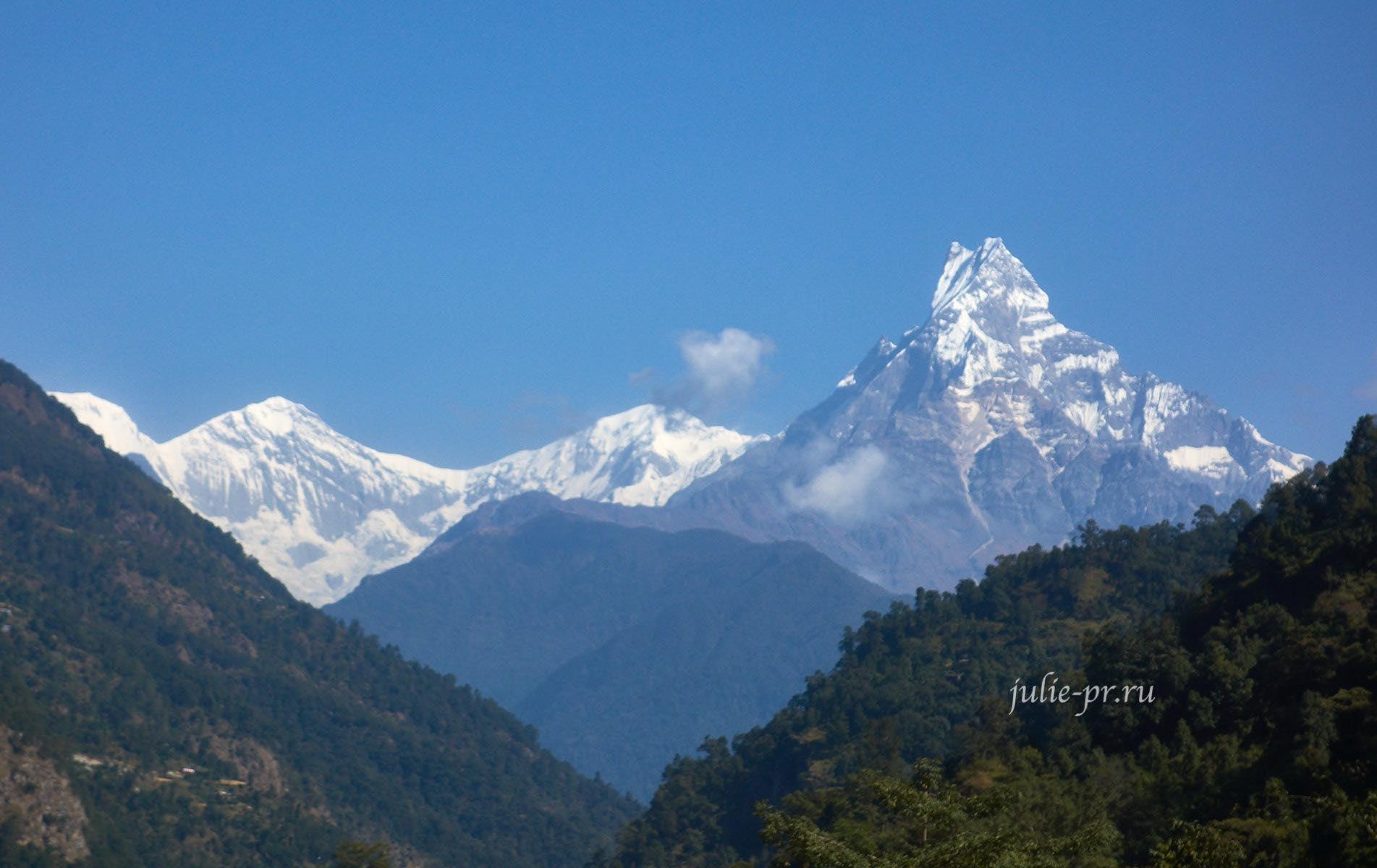 Непал, Аннапурна, Мачапучаре