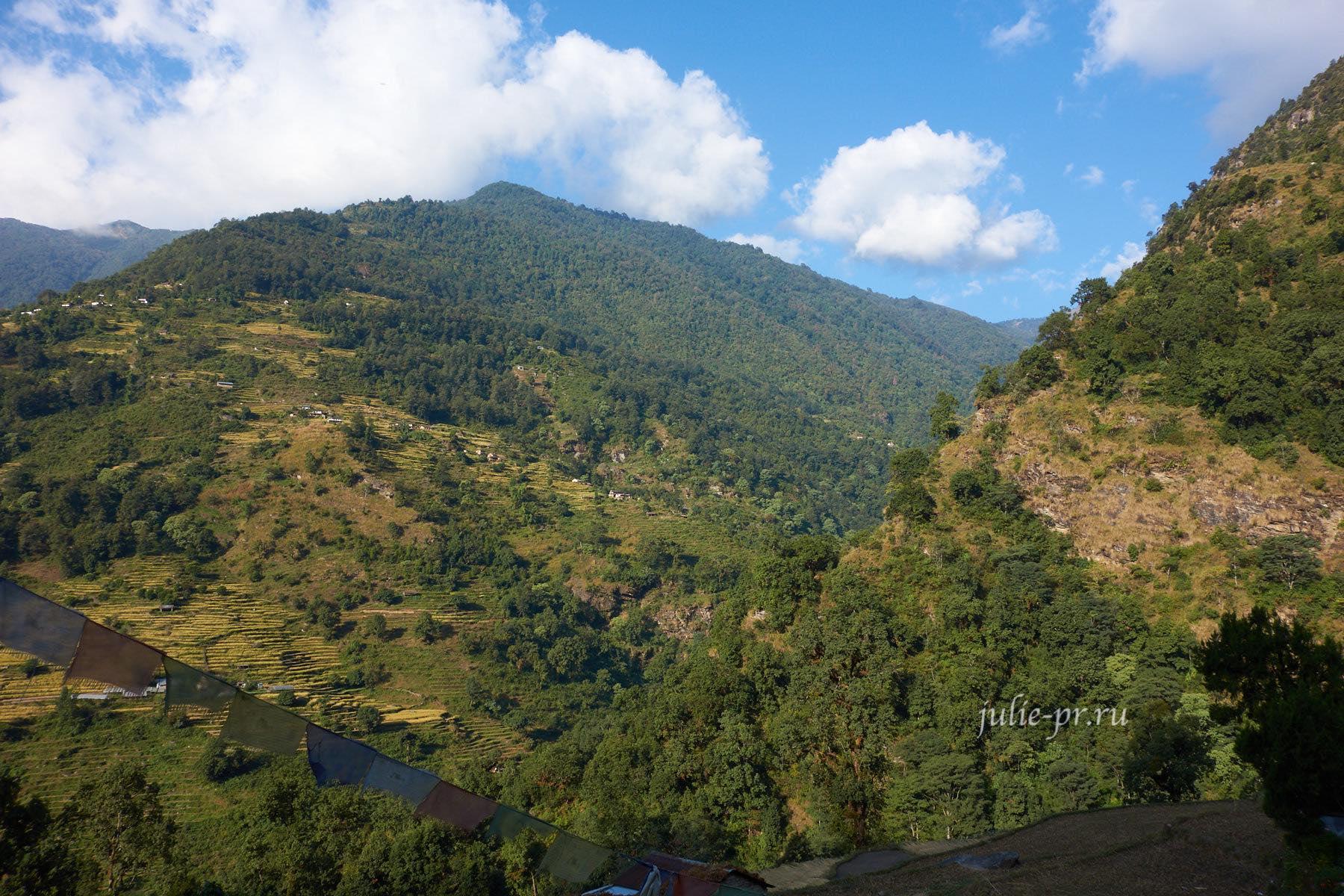 Непал, Пун-Хилл трек, Деревня Тикхедхунгга
