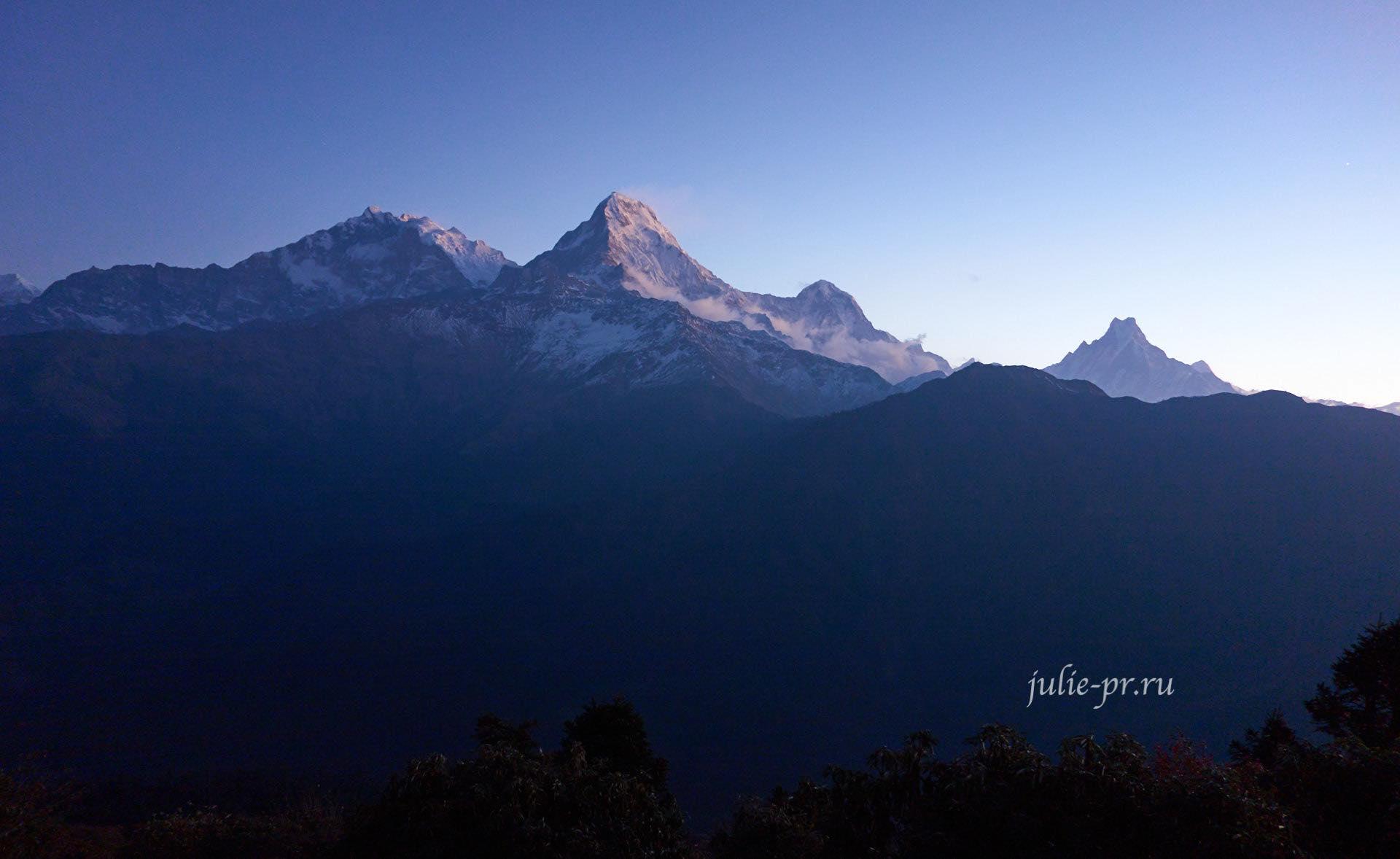 Непал, Пун-Хилл трек, Аннапурна