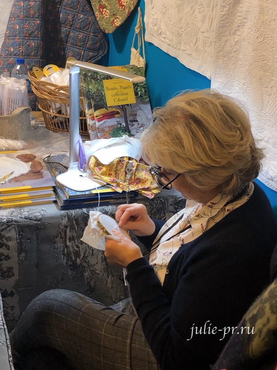 Francine Nicolle, вышивка, La maison du boutis