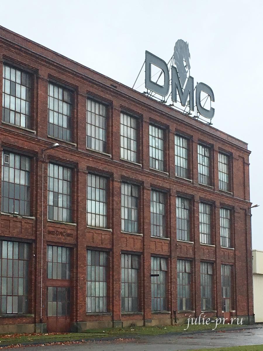 Завод DMC в Мюлузе (Франция), фабрика DMC