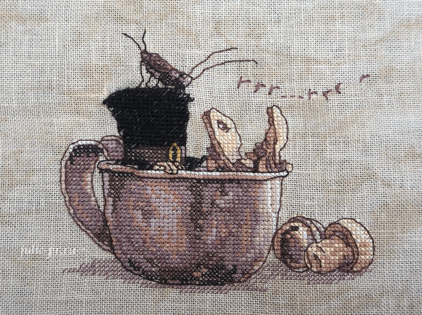 Nimue, Chapeau Ivre, Пьяная шляпа, Annaick Chauvel, Аннаик Шовель