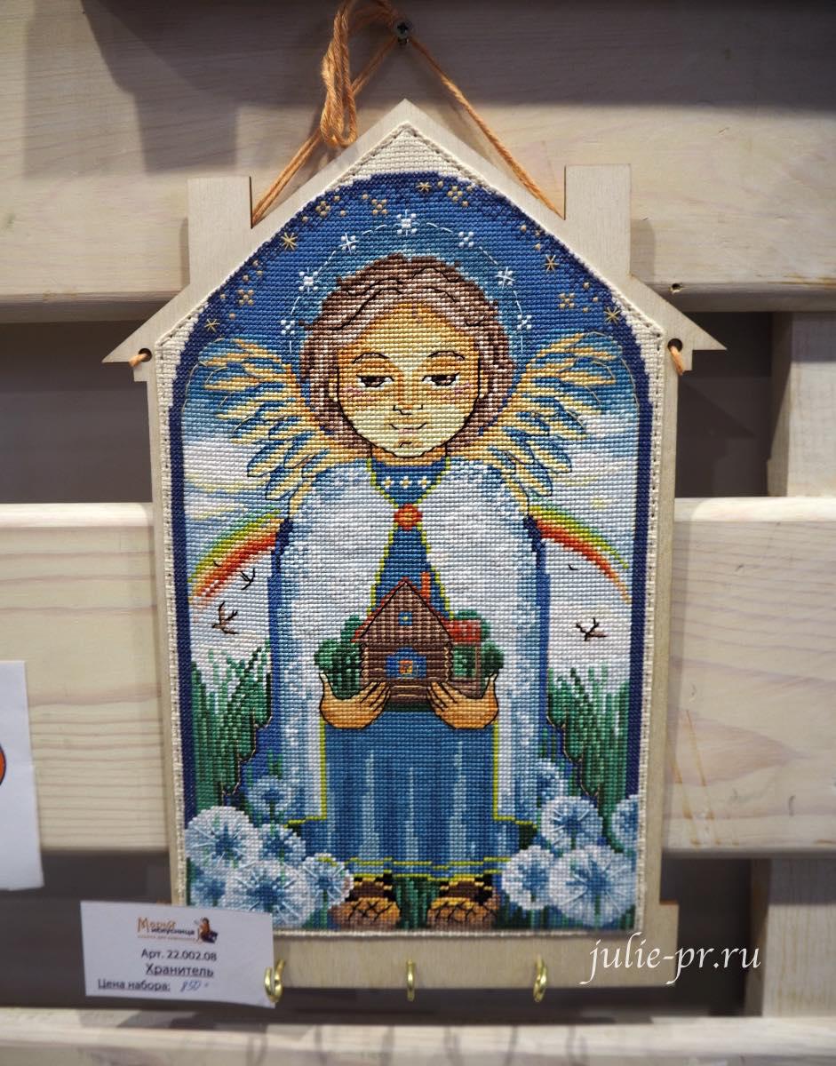 Марья Искусница, вышивка крестом, ангел хранитель