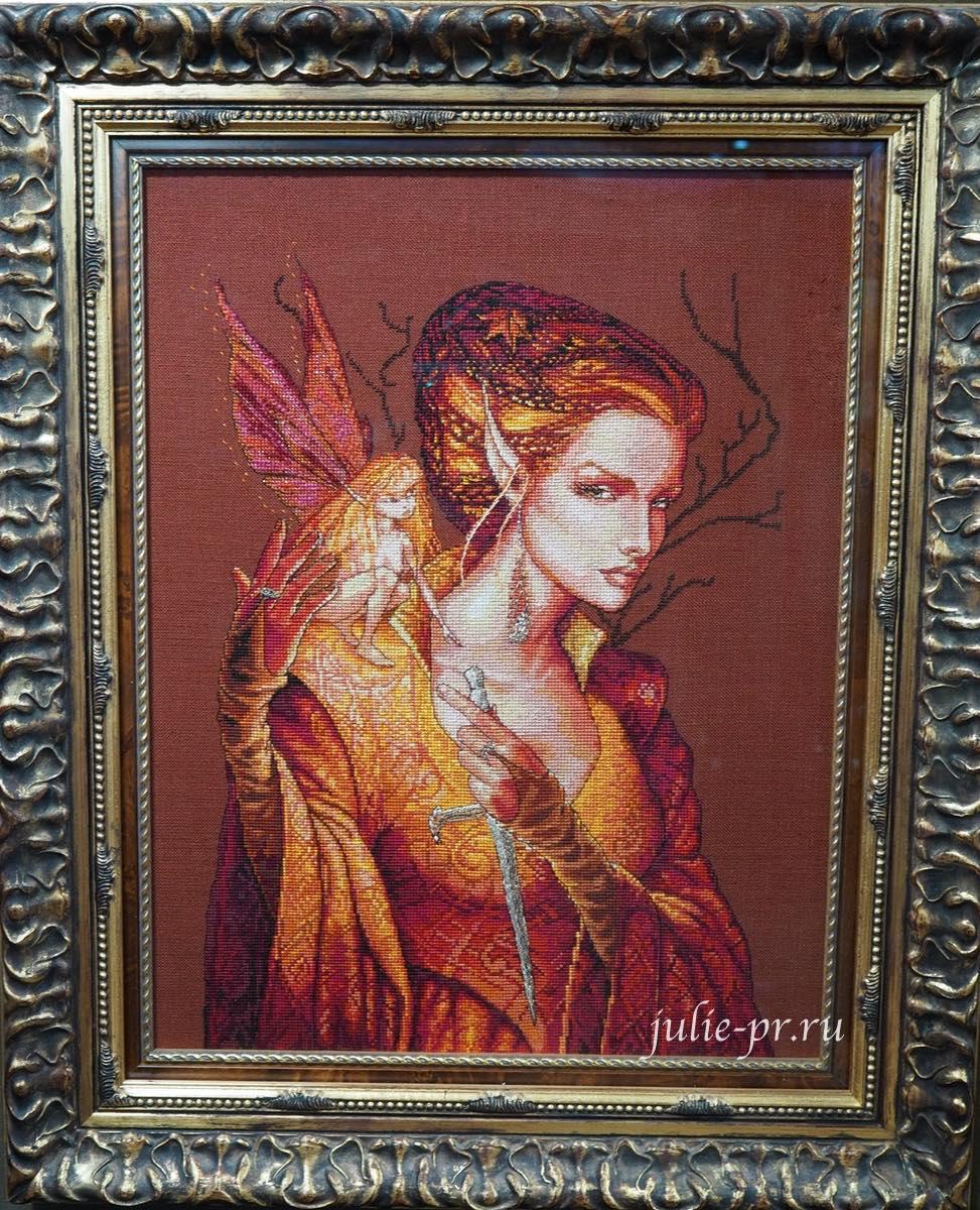 вышивка крестом, Nimue, Reine Des Fees, Королева фей