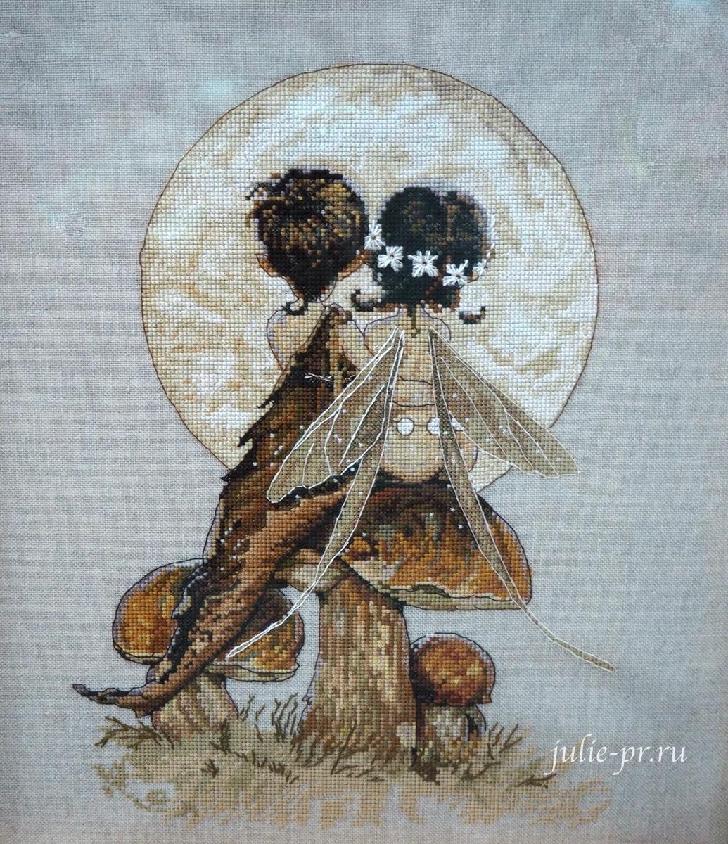 вышивка крестом, Nimue, Clair De Lune, Лунный свет