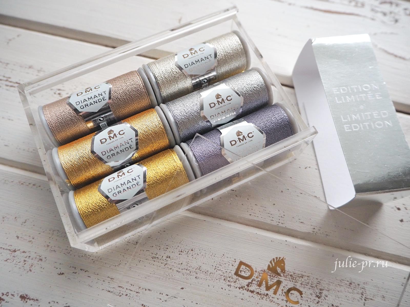 Нитки DMC Diamant Grande, вышивка