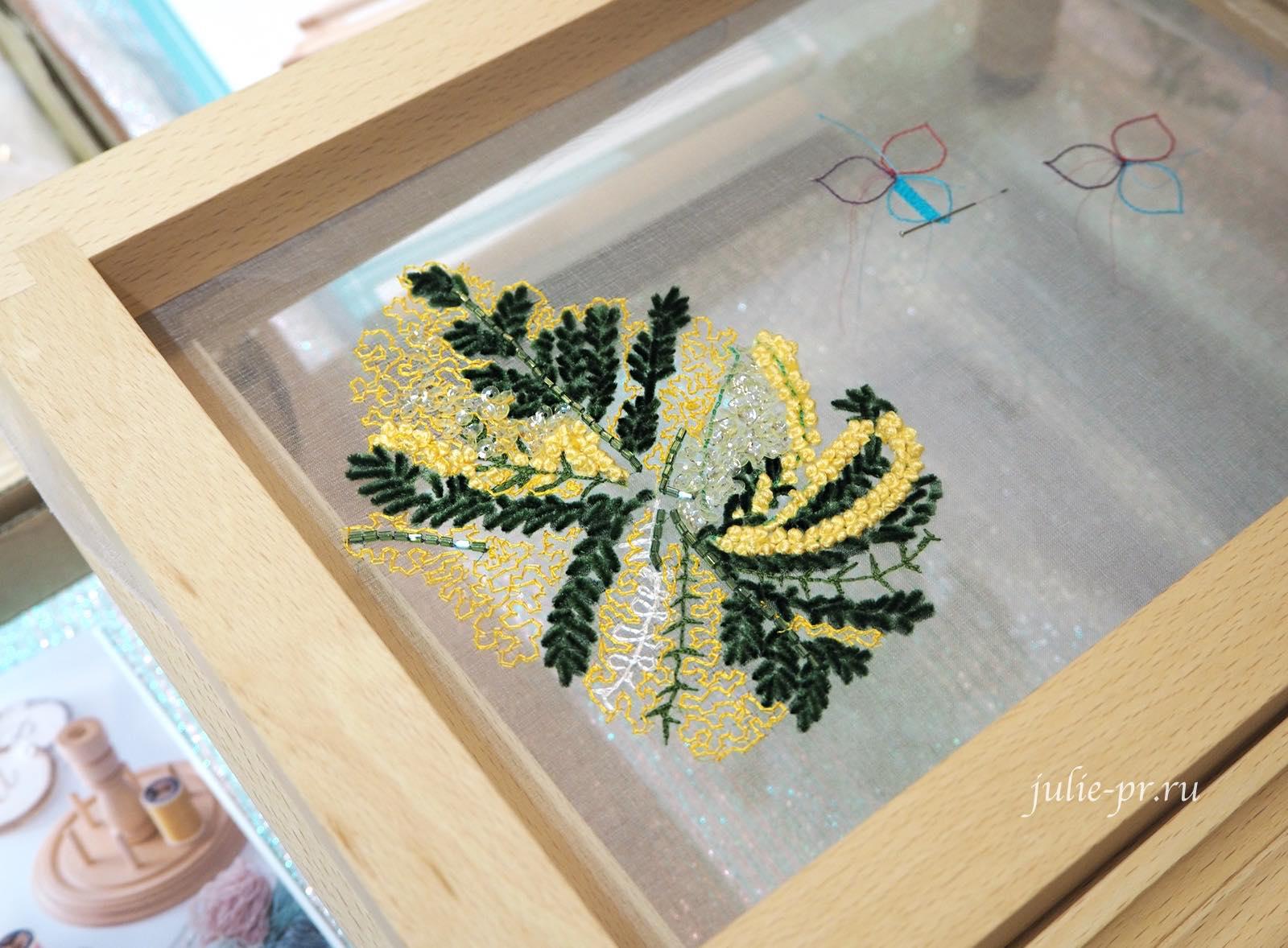 Atelier Cotoha, Chie Ogawa, кутюрная вышивка, выставка в Париже Aiguille en fete