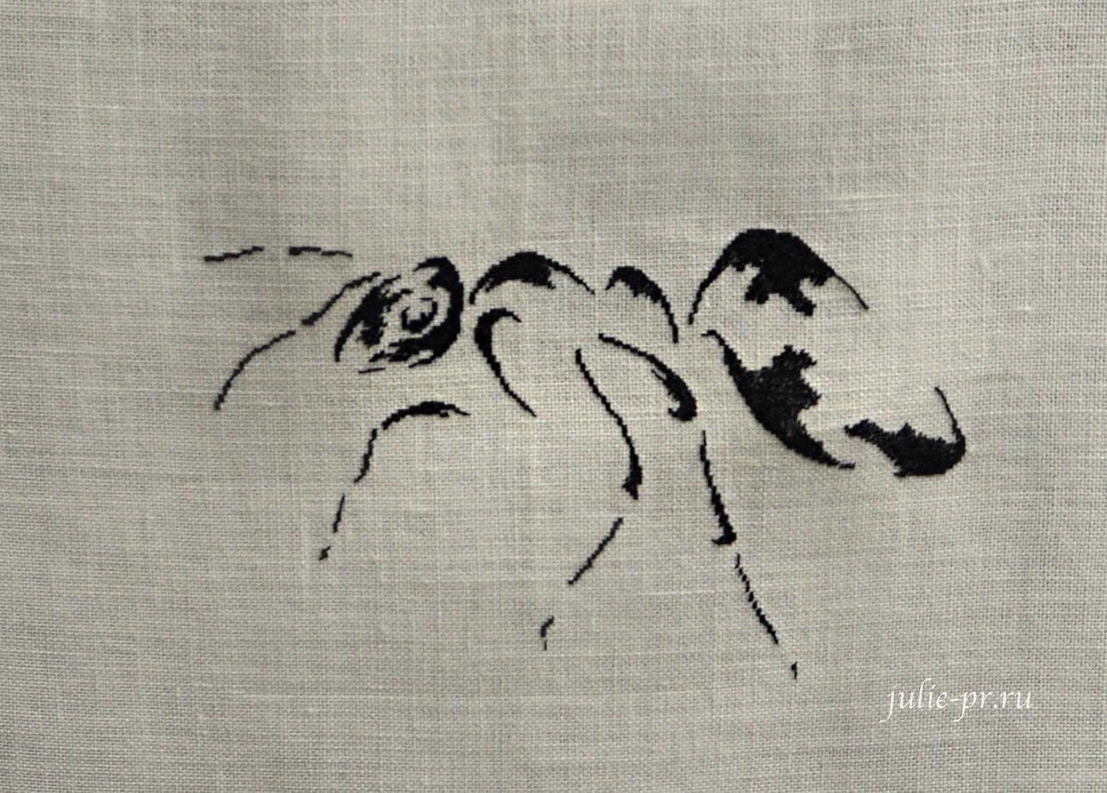 MTSA, Муравей, вышивка крестом, вышивка петитом