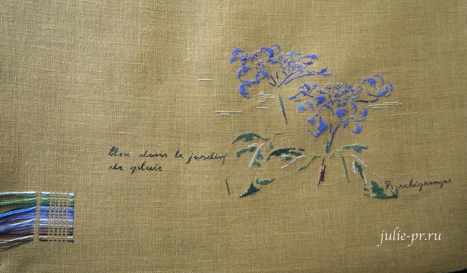 MTSA, Гортензия, вышивка крестом, вышивка петитом