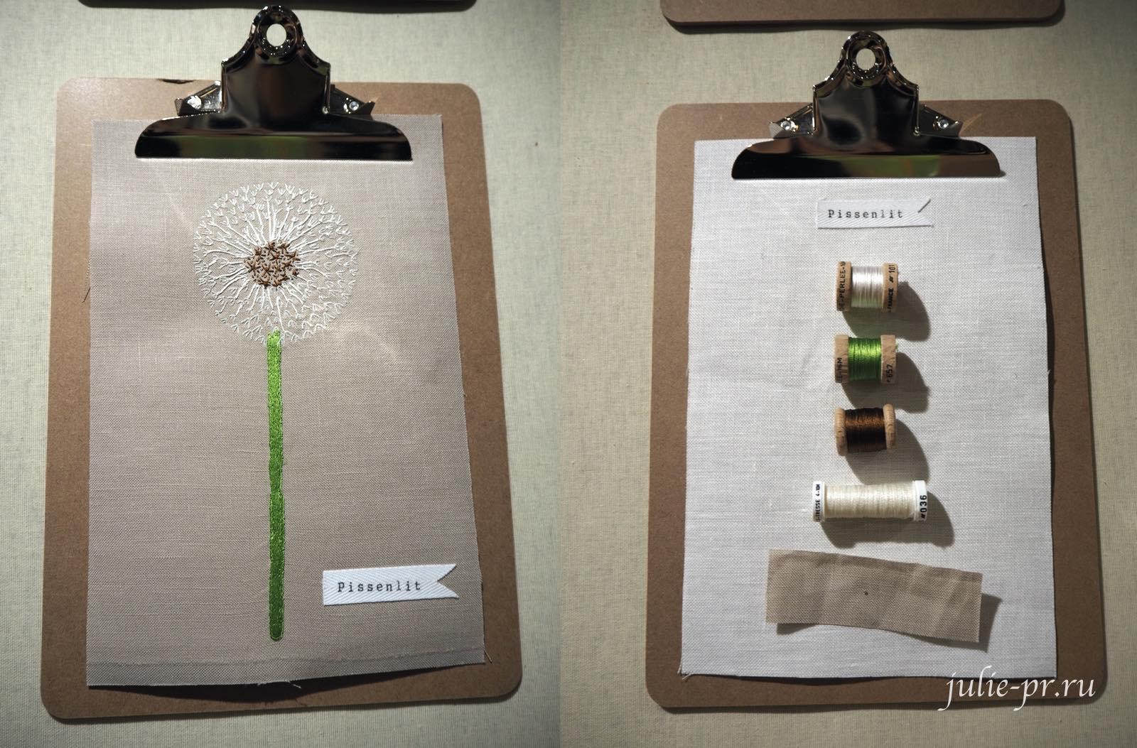 Au ver à soie, шелковые нитки для вышивки, вышивка