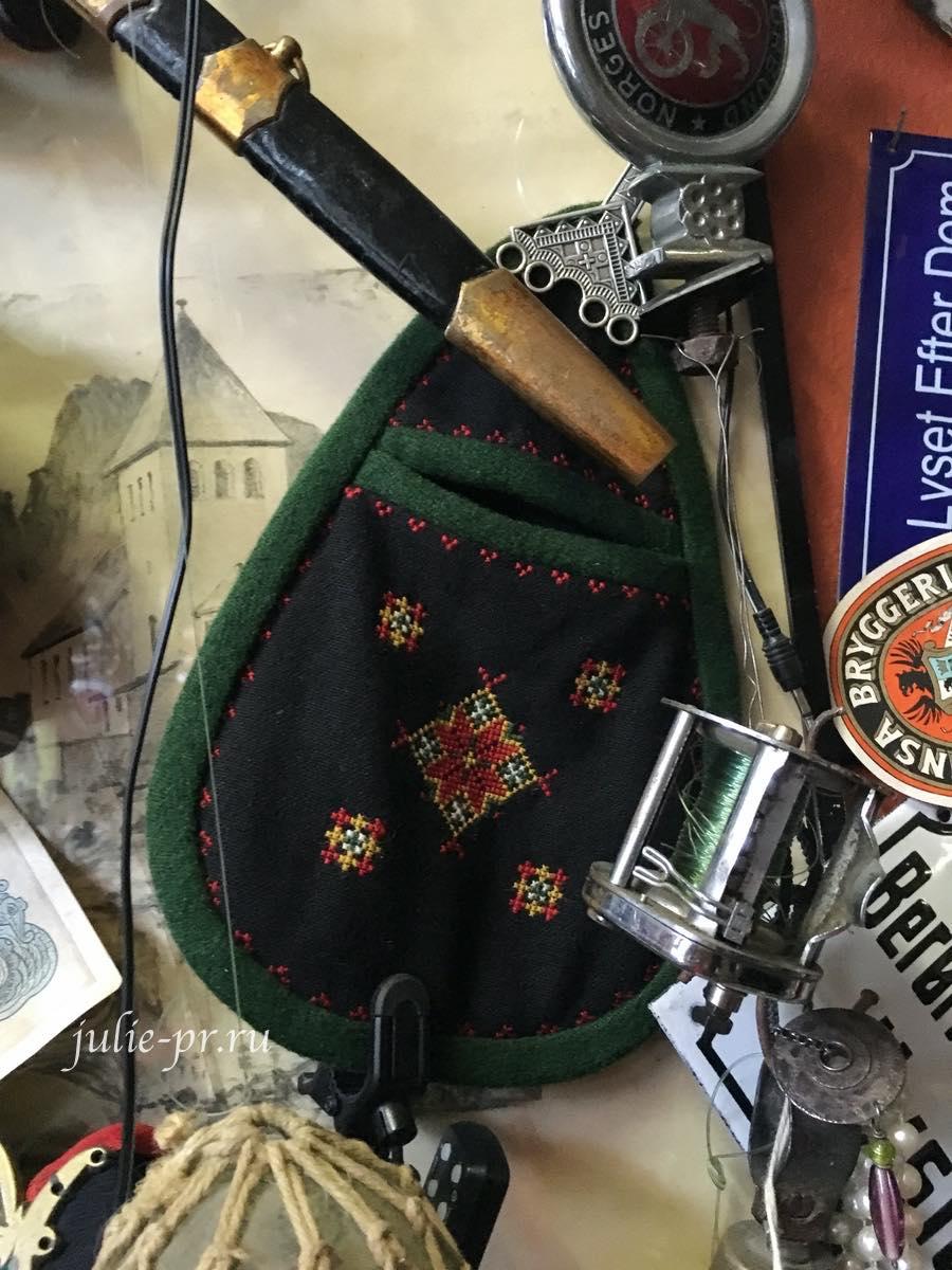Винтажная вышивка, Берген, Норвегия, вышивка крестом