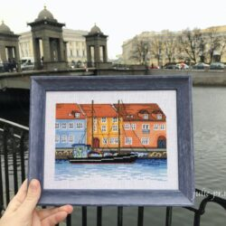 Вышитый Копенгаген