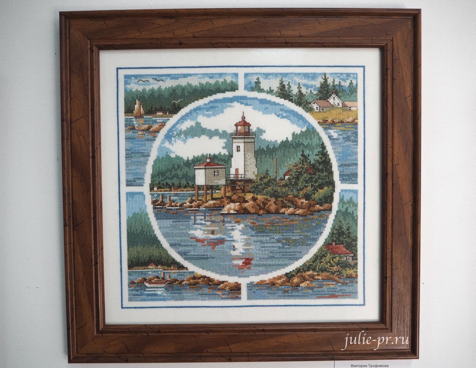 JCA, Northern Light, вышивка крестом, маяк