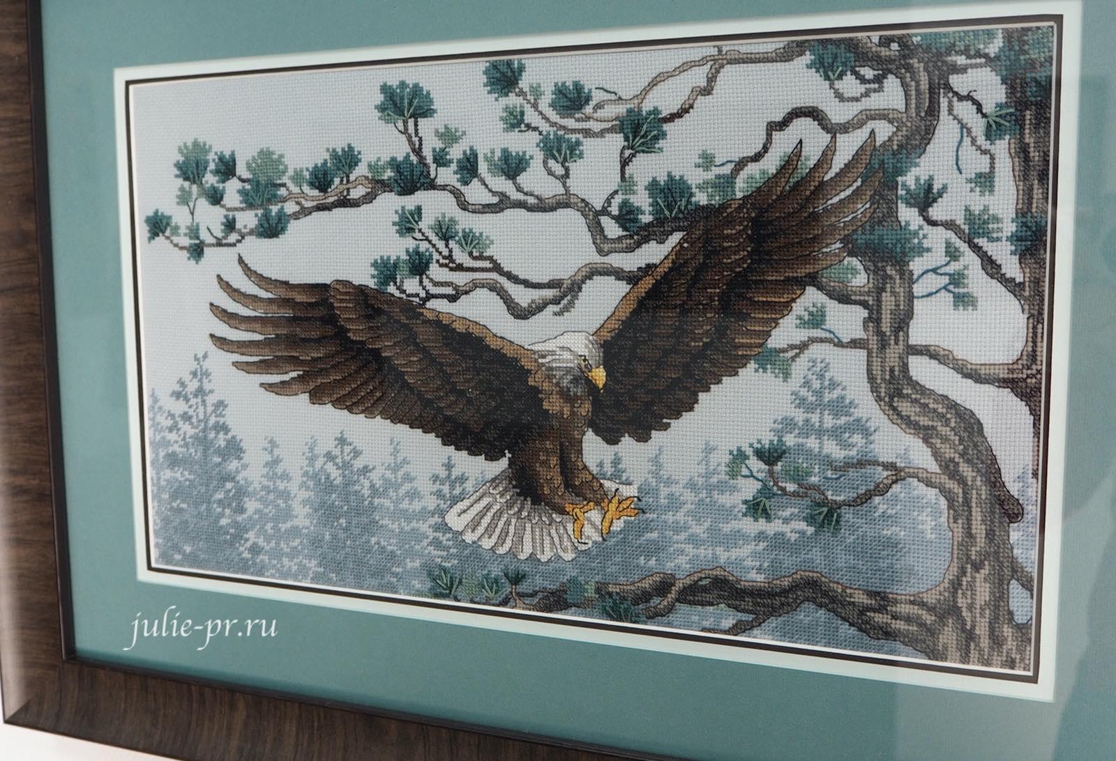 Dimensions, 13640 Majestic Eagle, Величественный орел, вышивка крестом