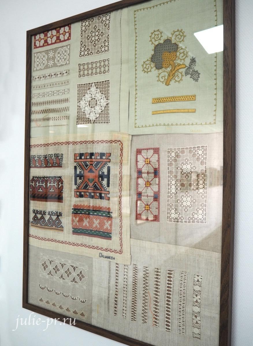 Образцы старинной вышивки