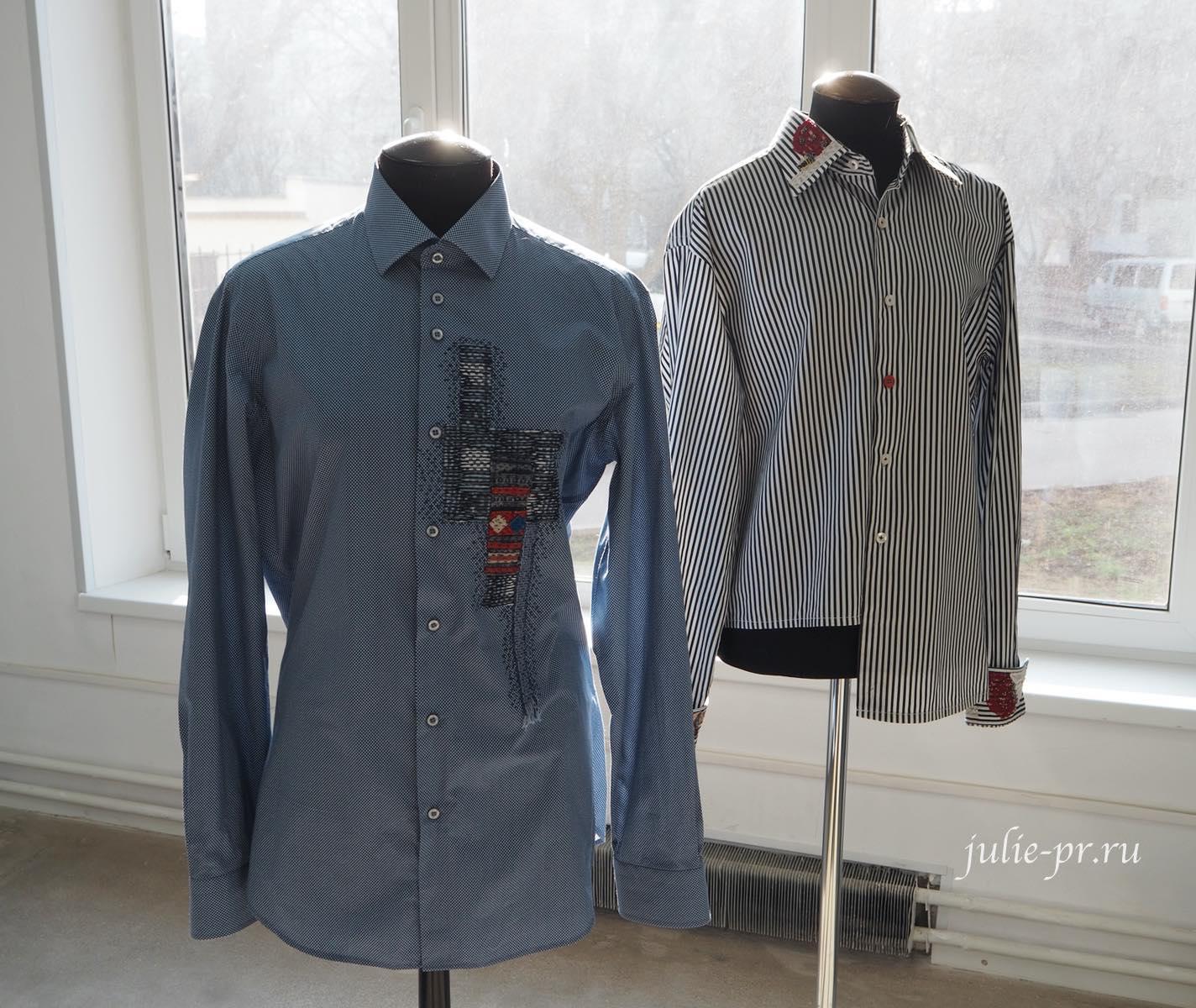 Вышивка на рубашках