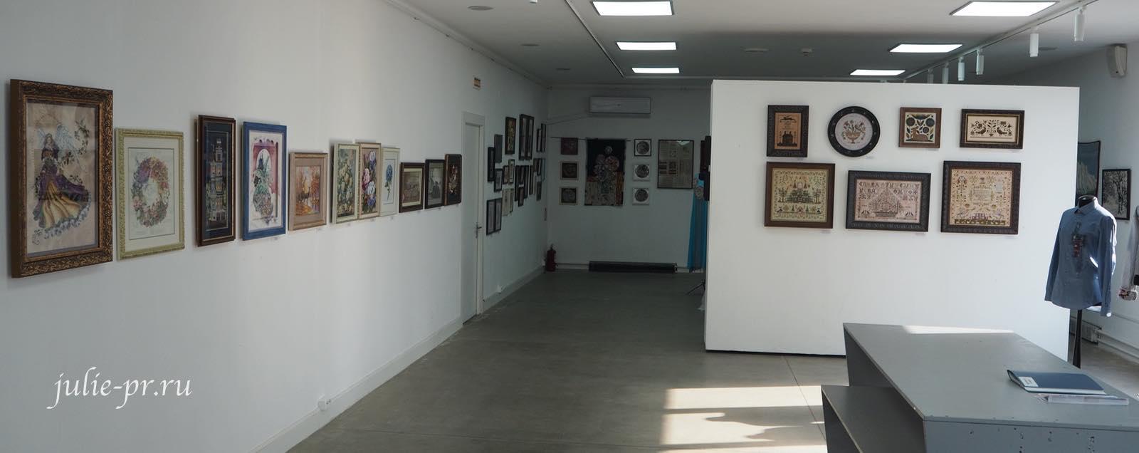 Выставка вышивок, вышивка крестом, выставка, солнцево