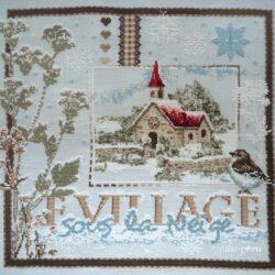 Заснеженная деревня